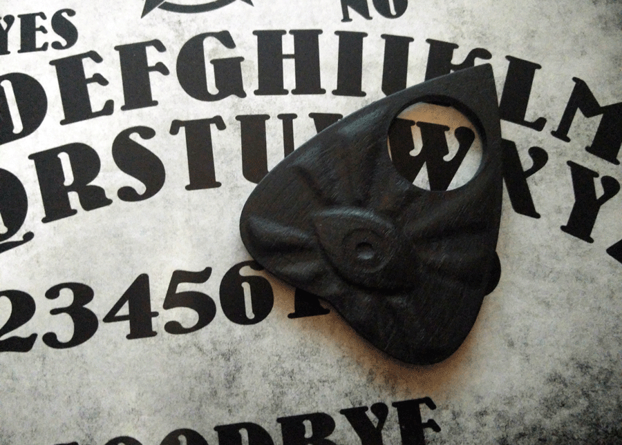 how to make a ouija board planchette with paper