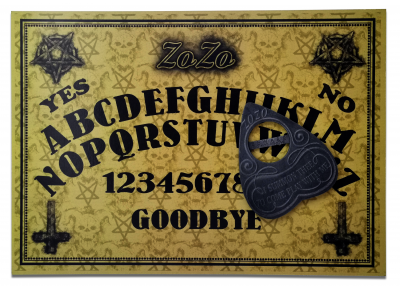 ZoZo Demon Ouija Board